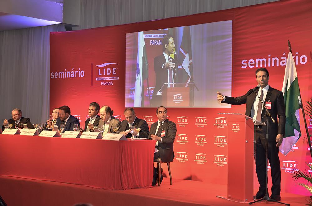 Fernando Vernalha foi palestrante convidado de Seminário da Lide Paraná