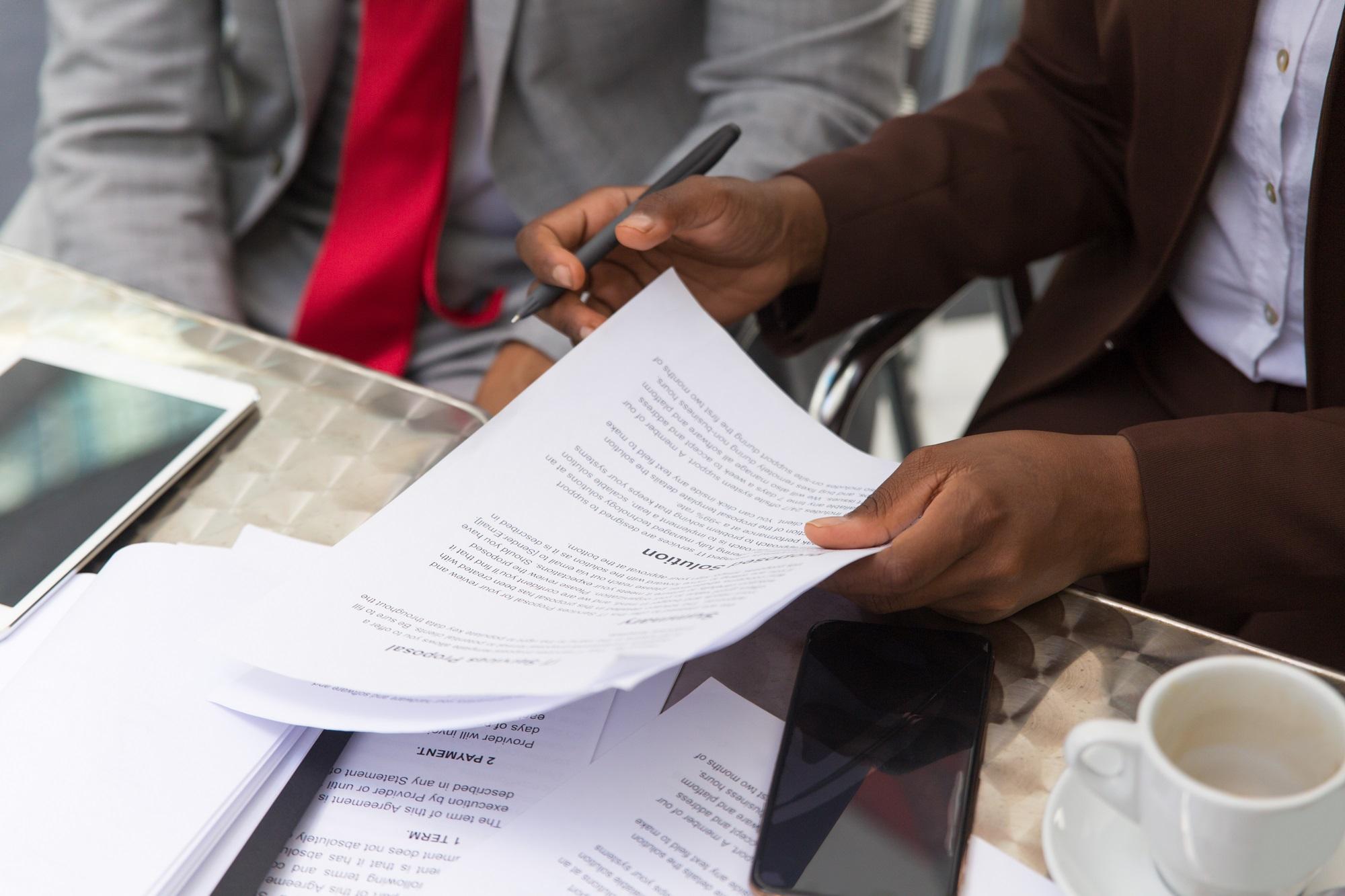 Contrato de confidencialidade: no que devo prestar atenção?