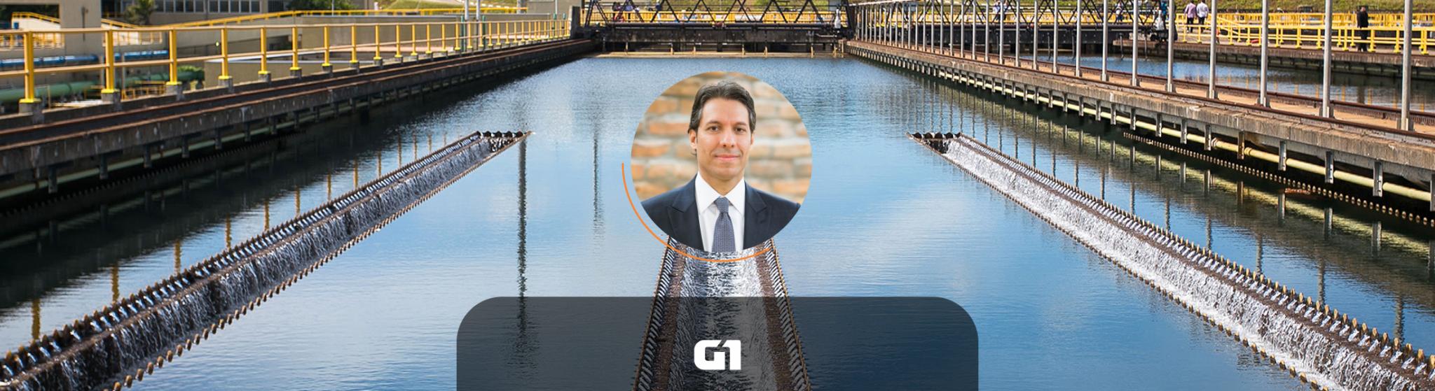 No G1, Fernando Vernalha comenta sobre os desafios para elevar os investimentos no setor de saneamento