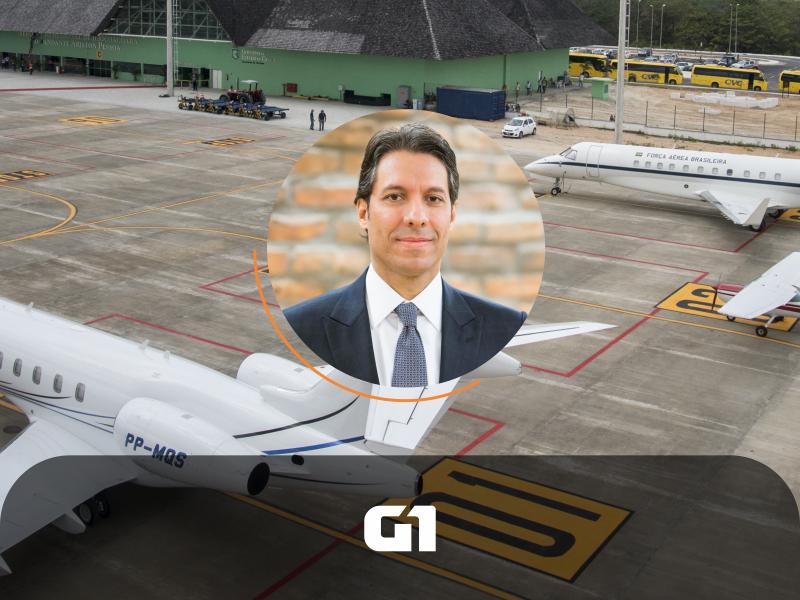 No G1, Fernando Vernalha comenta sobre as rodadas de concessões de aeroportos no pós-pandemia