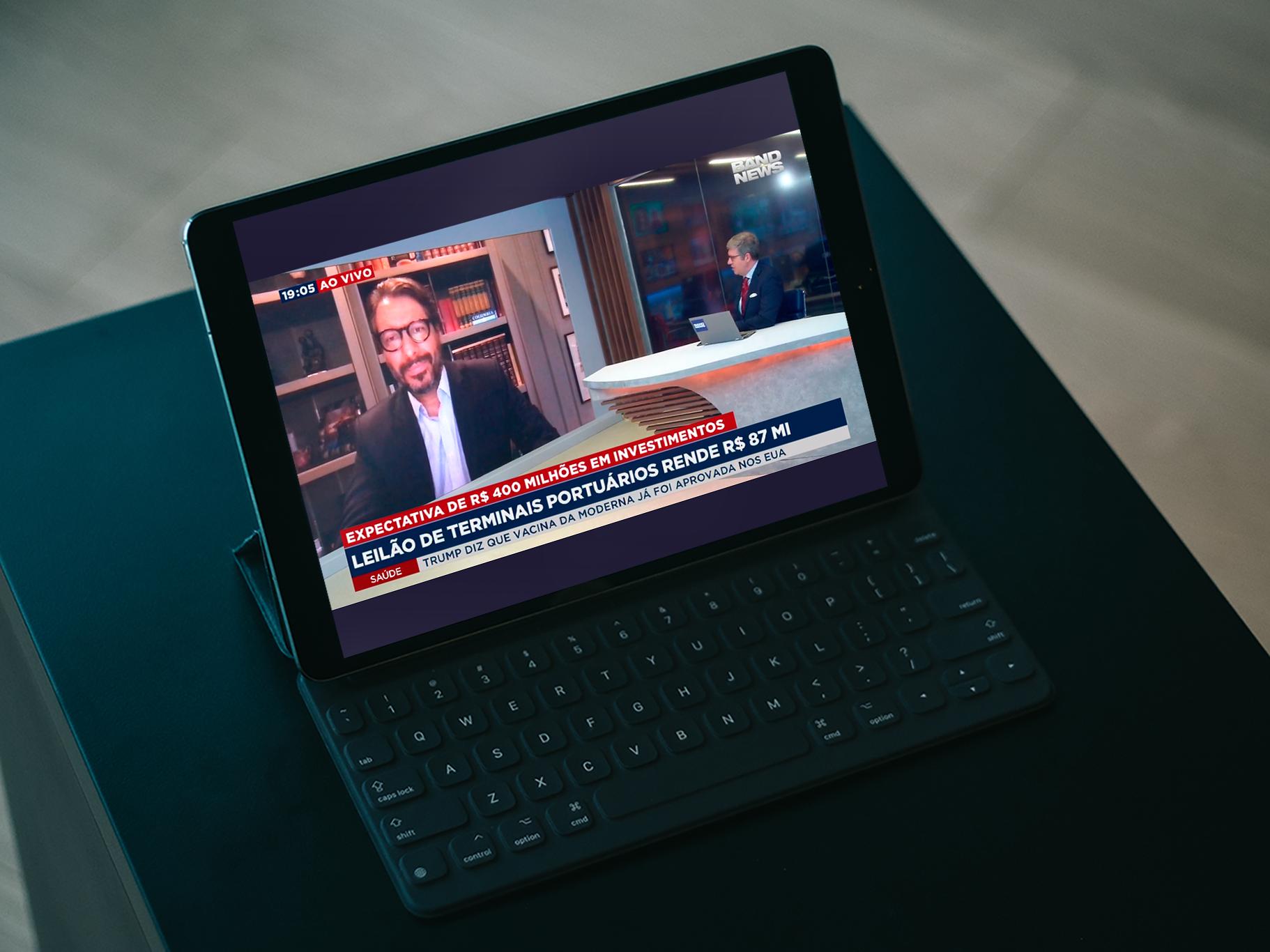 Na BandNews TV, Fernando Vernalha comenta sobre as expectativas em torno do leilão dos terminais portuários