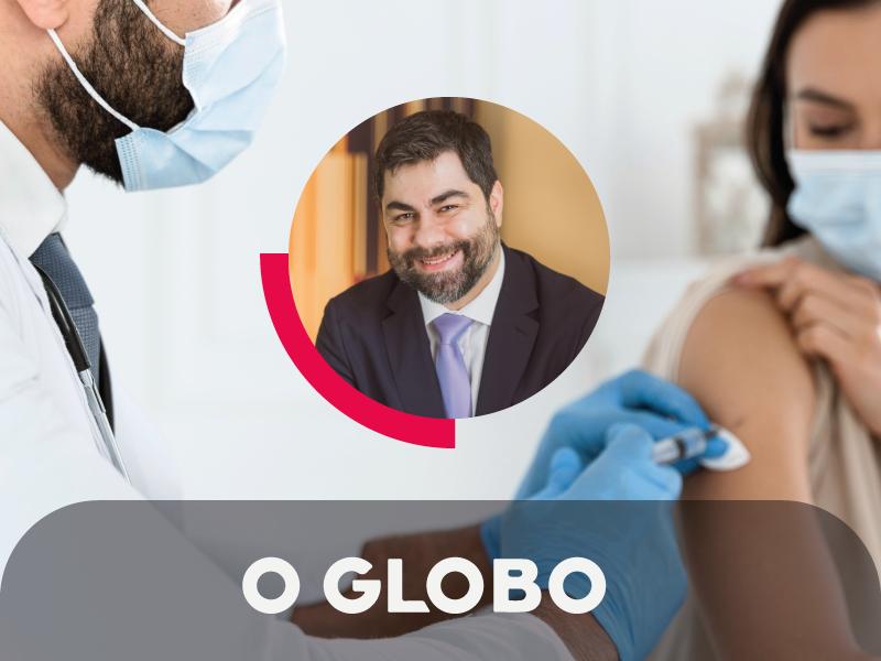 No portal O Globo, Silvio Guidi comenta sobre os pedidos de prioridade na fila da vacinação