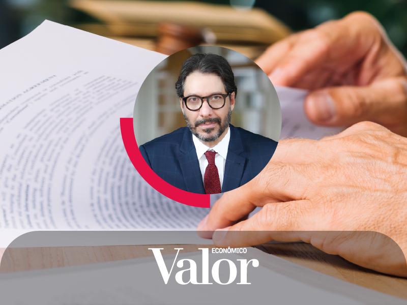 No Valor Econômico, Fernando Vernalha comenta sobre os possíveis caminhos para a renovação de contratos de saneamento