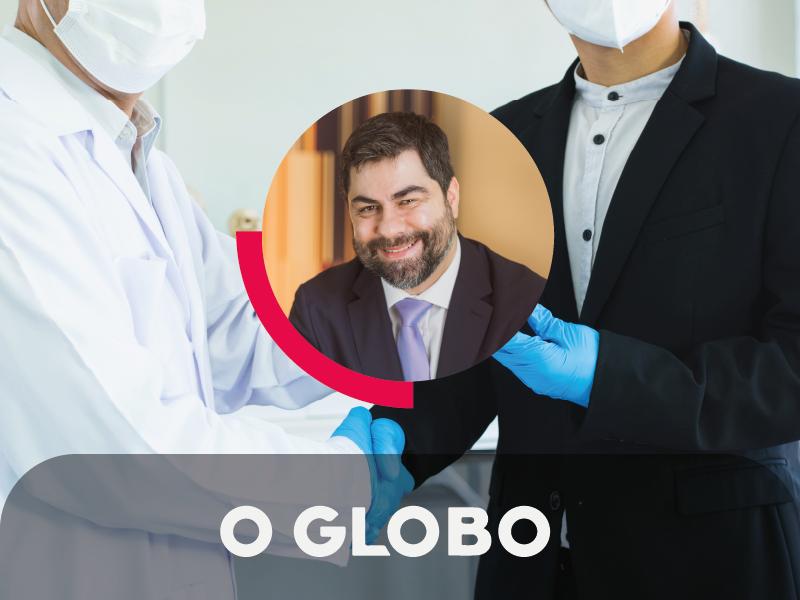 No jornal O Globo, Silvio Guidi comenta sobre a complexidade e os riscos dos contratos de aquisição de vacinas