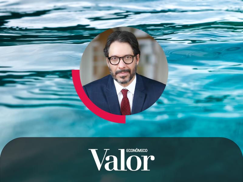 No Valor Econômico, Fernando Vernalha comenta sobre a forte disputa no Leilão de saneamento do Amapá