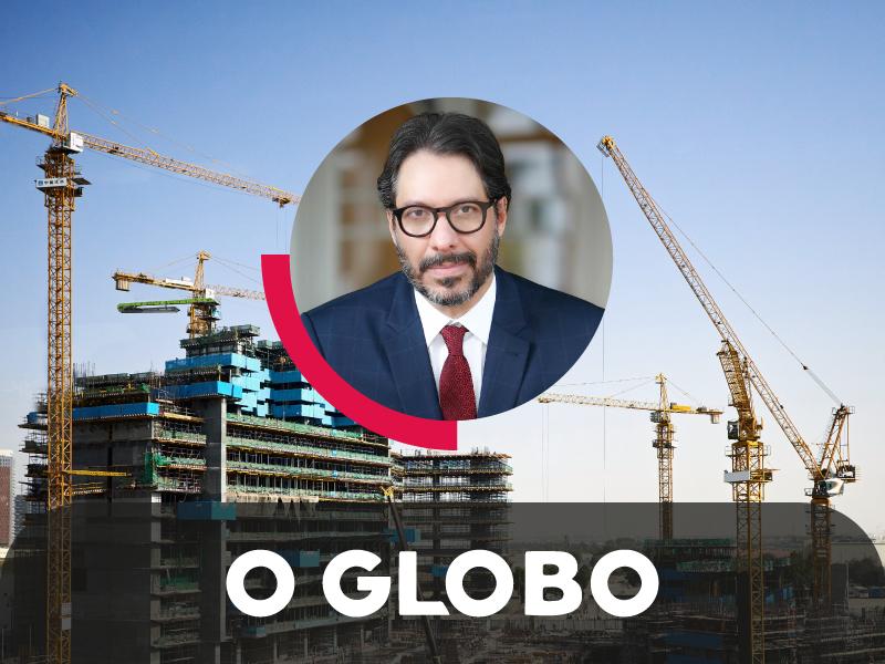 Fernando Vernalha fala sobre crise institucional e sua influência no setor de infraestrutura em artigo d'O Globo